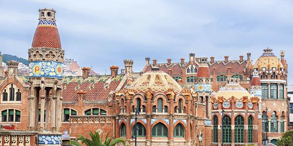 hospital de Sant Pau Barcelona ruta Modernista