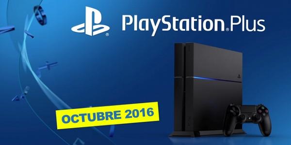 Juegos con PS Plus octubre 2016
