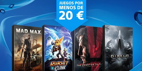 Juegos A Menos De 20 Para Ps4 Y Ps3 En Playstation Store