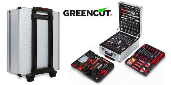Maleta de herramientas Greencut con ruedas de 416 piezas Tools-416 en Amazon