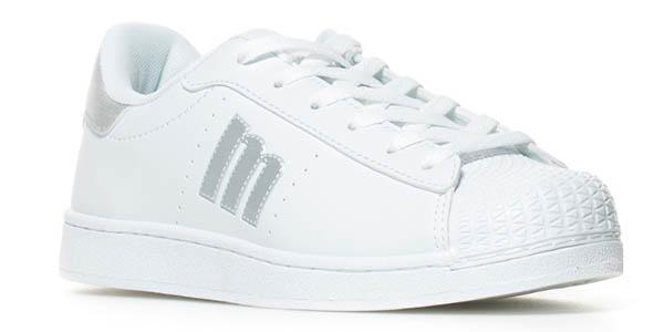 zapatillas blancas mujer baratas