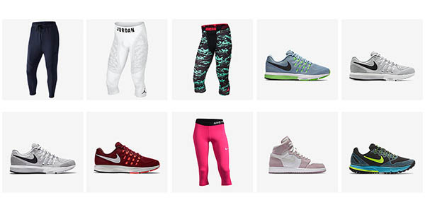 Productos rebajados tienda Nike