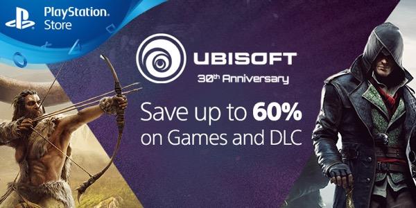 Ofertas En Juegos De Ps4 Y Ps3 Por El 30 Aniversario Ubisoft
