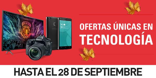 Ofertas tecnología eBay España Septiembre 2016