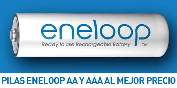 Pack 8 pilas recargables panasonic eneloop aa o aaa a for Oferta pilas recargables