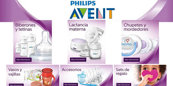 promocion philips avent productos bebe amazon septiembre 2016