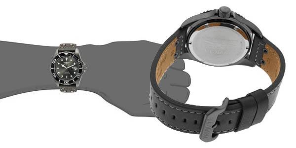reloj hombre invicta pulsera precio brutal