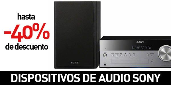 Productos de sonido Sony