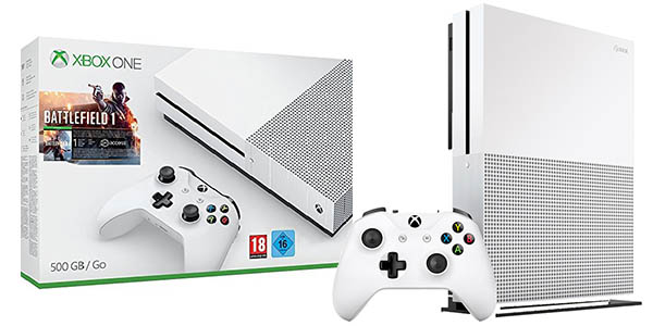 Pack Xbox One S 500GB + Battlefield 1