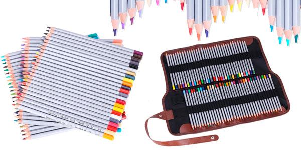 Chollo set de 72 lápices de colores de alta calidad para dibujo ... cf25edd1817d