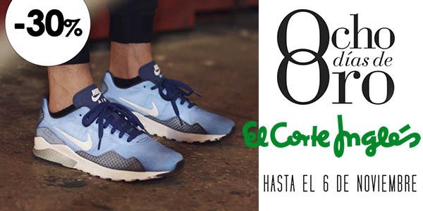 8c510f43bef Sólo unos días  Hasta -30% en zapatillas de deporte en El Corte ...