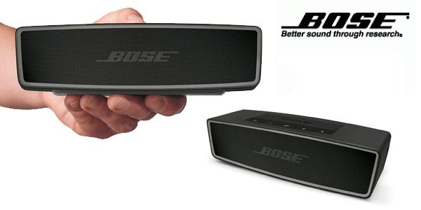 Altavoz portátil bluetooth Bose SoundLink II en oferta