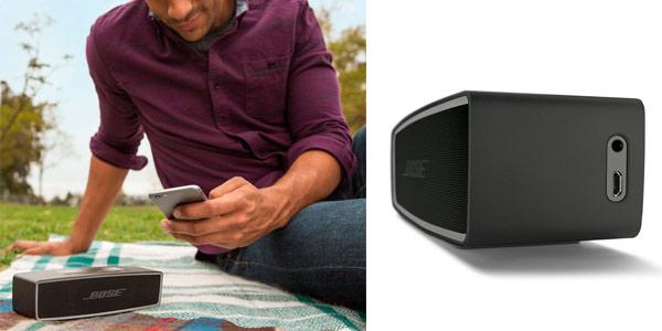 Altavoz marca Bose de gran calidad portátil y con conexión de audio 3,5
