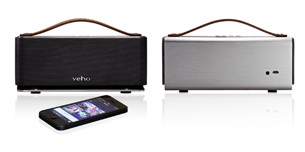 Altavoz portátil bluetooth Veho Vss-012-,M6 con manos libres y batería