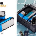 Juego de 4 bolsas organizadoras para equipaje de Amazon en varios tamaños y colores