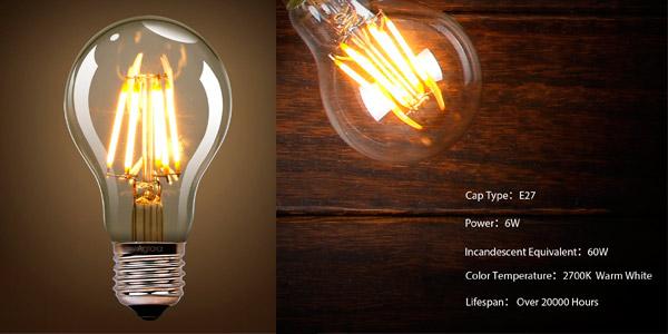 Bombillas LED de luz cálida E27