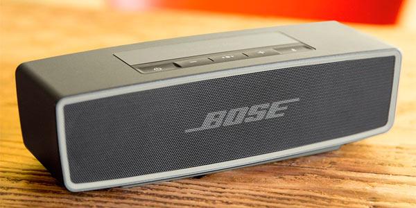 Altavoz portátil de gran calidad con bluetooth de la marca Bose Soundlink Mini II