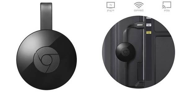 Chollazo Chromecast 2 + película en HD por solo 27 481ef800d4af
