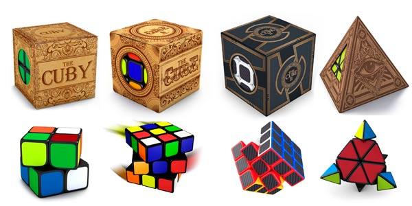 Cubos rimpecabezas estilo cubo de Rubik de buena calidad y baratos The Cuby