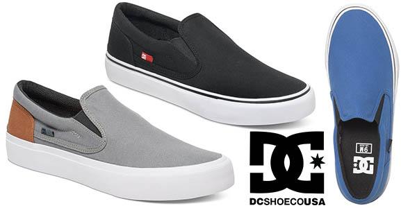 Chollo loco zapatillas dc shoes trase sin cordones para - Zapatillas lona carrefour ...