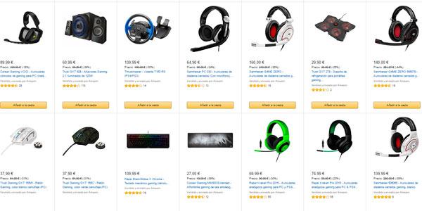Especial ofertas de gaming en amazon hasta el 13 de for Sillas gaming rebajas
