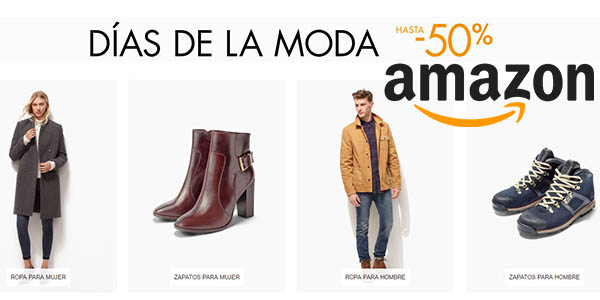 Días de Moda en Amazon con rebajas de hasta un 50%: las 18