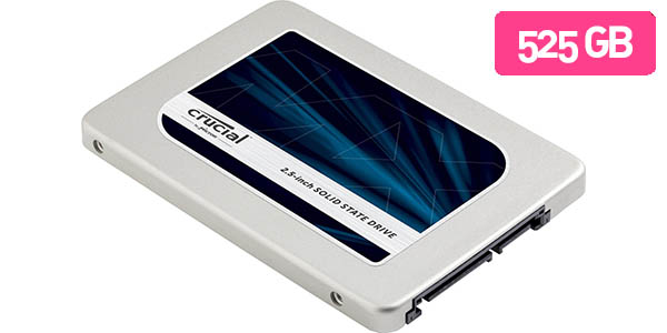 Disco SSD Crucial MX300 525 GB
