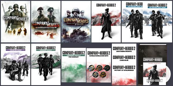 Humble Company of Heroes Aniversary Bundle