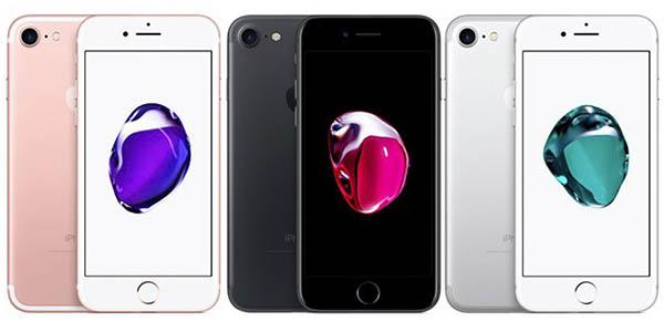 iPhone 7 en varios colores