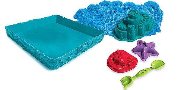 juego kinetic caja arena moldeable niños