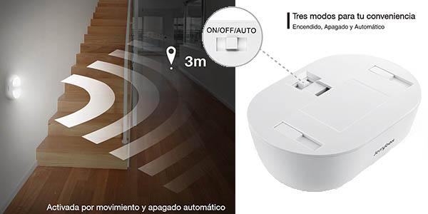 Chollo Flash Lámpara Led Jerrybox Con Sensor De Movimiento Por Sólo