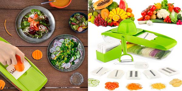 Mandolina cortador de verduras coolife con accesorios a buen precio