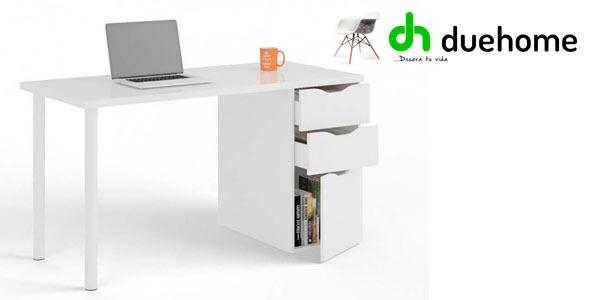 Mesa para ordenador Athena de Duehome económica y versátil