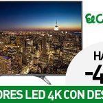 Promoción hasta -40% en TV LED 4K
