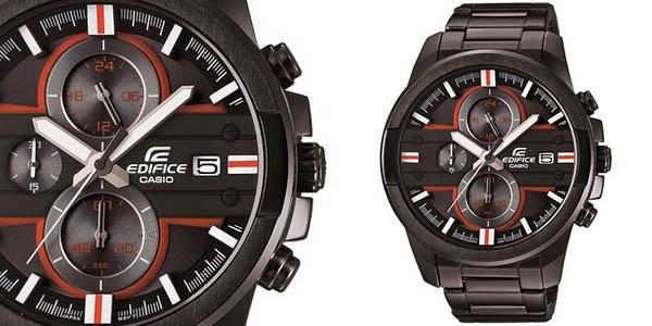 542fed236bcf Chollo reloj Casio Edifice EFR-543BK-1A4VUEF por sólo 88€ (48% dto.)