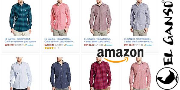 seleccion camisas El Ganso baratas amazon octubre 2016