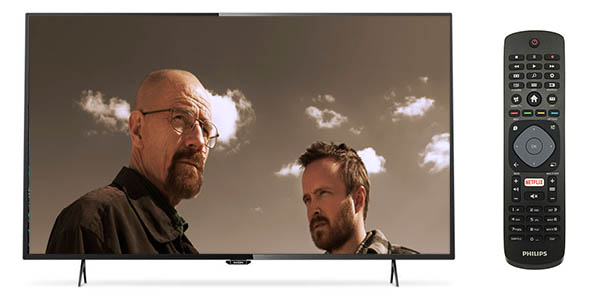 Televisor LED Philips 55PUH6101 UltraHD 4K