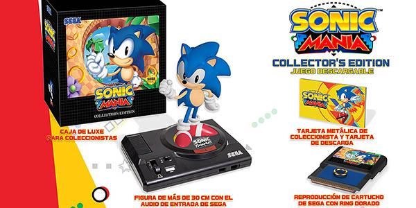 Contenido Edición Coleccionista Sonic Mania