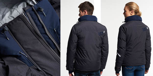 superdry snow rider chaqueta plumas precio brutal