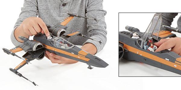 Star Wars Hasbro Poe's X-Wing Fighter barato en Amazon