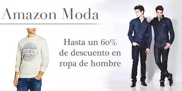 bd76f036d Descuentos de hasta el 60% en una selección de ropa de hombre en Amazon