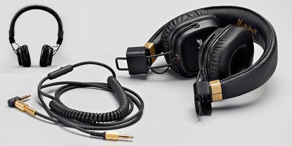 Auriculares de diadema Marshall Major II con cable y micrófono