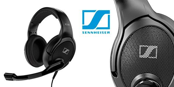 Auriculares abiertos Sennheiser PC360 especial edition para PC y consola rebajados en Amazon
