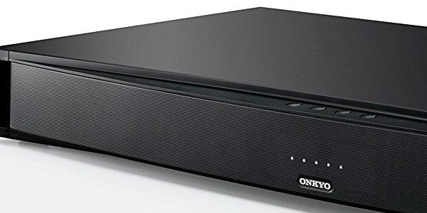 Barra de sonido Onkyo dolby digital con bluetooth y buena potencia a buen precio