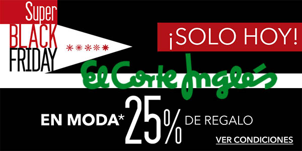 black friday moda eci 2016