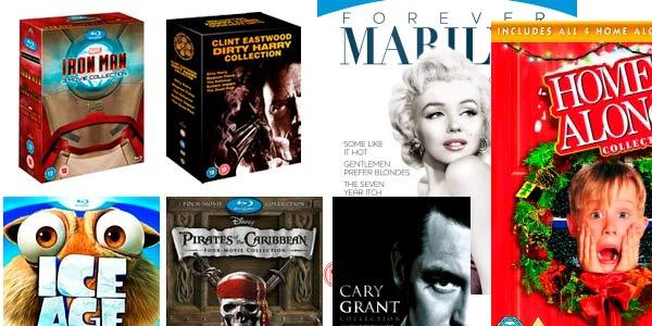 Clecciones de películas en blu-ray a buen precio en Zavvi
