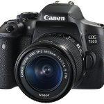 Cámara réflex Canon EOS 750D + EF-S 18-55 IS STM