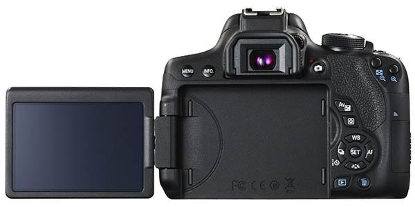 Pantalla táctil Canon EOS 750D