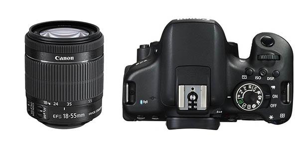 Cámara Canon EOS 750D barata