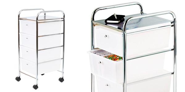Chollo carrito auxiliar con ruedas premier housewares para for Carrito auxiliar con ruedas